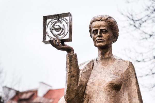 Marie Curie- läromedel till lektion i kemi åk 7,8,9